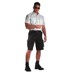 Rothco 78231 Black EMT Shorts