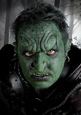 Epic Armoury LARP-Applikation Orkstirn Ork Fasching Halloween Monster Maske