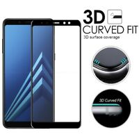 Full Covered Tempered Glass Screen Protect Film For Samsung Galaxy A6 A6+ J4 J6
