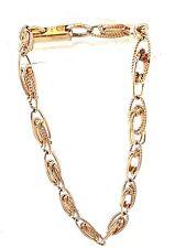VTG Sara Coventry Open Filigree Link Bracelet