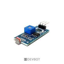 Module Photorésistance, Capteur lumière 3.3 à 5V. LM393. Arduino, Pi, DIY