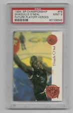 SHAQUILLE O'NEAL 1994-95 SP CHAMPIONSHIP FUTURE PLAYOFF HEROES PSA 9 MINT HOF