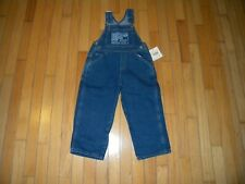 Guess NEW with tags Unisex Children's Denim Overalls Size 2Y