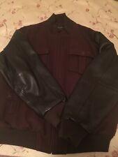 Sean John Leather Jacket Size XXL