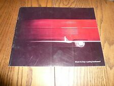 Original Volkswagen VW Truck Sales Brochure Panel Pickup Kombi  Double Cab Wagon