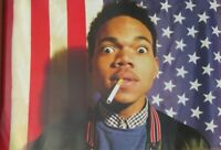 Chance-The Rapper-Smoking-Poster-Laminated available-90cm x 60cm-Brand New