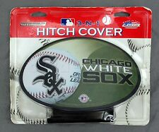 MLB Chicago White Sox Car Truck Vehicle 3 in 1 Grille Hitch Cover - Made in USA