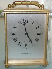 ANTIQUE TIFFANY CARRIAGE ALARM CLOCK 15J LEVER ESCAPEMENT C.249 NO. 1525031