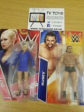 WWE BASIC-Rusev & Lana Mattel lucha libre figura Nuevo/en Caja 2 Pack