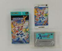 ROCKMAN X  wuth BOX Nintendo Super Famicom  SFC SNES Japan USED