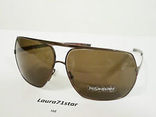 Yves Saint Laurent 2070 Bronzo Aviator Unisex occhiali sole Sunglasses Original