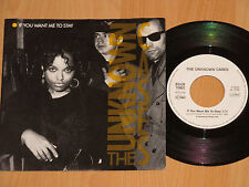 """7"""" UNKNOWN CASES - IF YOU WANT ME TO STAY / MASIMBA BELE DUB MIX  HELMUT ZERLETT"""