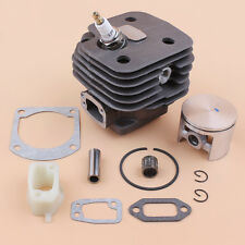 Cylinder Piston Kit Intake Spacer For Husqvarna 266XP Chainsaw Big Bore 52mm