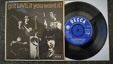 Rolling Stones - Got Live If You Want It - EP - UK 1965