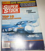 Super Stock Magazine Top 10 Super Stock Racers August 1981 080514R1