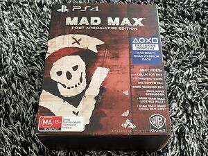 Mad Max Post Apocalypse Edition (PlayStation 4, 2015) Steelbook - Movie ++
