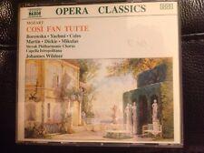 Mozart: Cosi Fan Tutte - Johannes Wildner, Naxos Digital 3 CD Set with Libretto