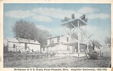 D18/ Point Pleasant Ohio Postcard c1922 Birthplace Grant Amplifier Centennial