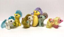 Vintage 80's G1 My Little Pony baby Bundle Lot