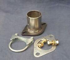 Ford Fiesta Courier 1.3 98-03 convertidor catalítico reparación Brida Tubo Conector