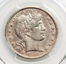 1906-S Barber Silver Half Dollar PCGS AU Details Type Coin About Uncirculated