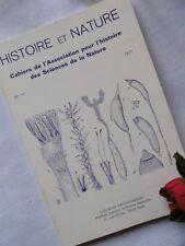 HISTOIRE ET NATURE N° 11 --- 1977