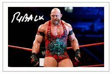 RYBACK THE BIG GUY WWE WRESTLING SIGNED PHOTO PRINT AUTOGRAPH