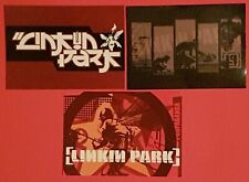 Set of 3 Rare Postcards LINKIN PARK 2001-2004 Music Pop Group