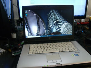 "Fujitsu Lifebook E780 15,6"" Notebook Intel® i5 2,53GHz-4GB-120GB SSD-Office"