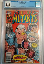 New Mutants #87 1990 VF+ CGC 8.5 1st First Cable! Movie Deadpool Newsstand!