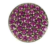 GINGER SNAPS™ BRASS RITZY - AMETHYST Jewelry - BUY 4, GET 5TH $6.95 SNAP FREE