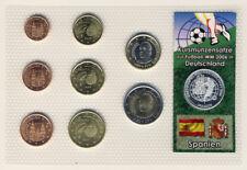 SPANIEN - KMS FUSSBALL WM 2006 mit SILBERPRÄGUNG (8985/841N)