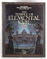 AD&D T1-4 The Templer of Elemental Evil Fair Gary Gygax, Frank Mentzer  TSR