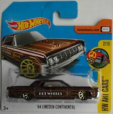 Hot Wheels - ´64 / 1964 Lincoln Continental auberginemet. Neu/OVP