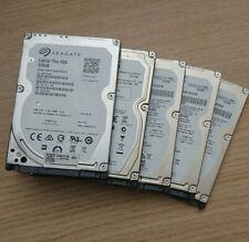 "5x Seagate Laptop Thin ST500LM021 500GB SATA 2,5"" HDD Festplatte orig"
