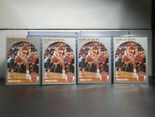 (4) 1990-91 NBA Hoops Mark Jackson Lot Knicks B7