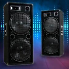 3000 WATT PARTY DISCO BÜHNE EVENT DJ PA 3-Wege Lautsprecher Boxen Pro 1500