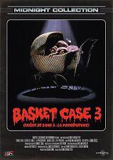 Affiche 40x60cm BASKET CASE 3 / FRÈRE DE SANG 3 - LA PROGENITURE 1992 R2016 NEUV