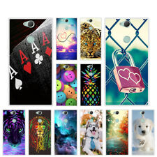 Soft  TPU Case For Sony Xperia XA2 Plus Protective Silicone Back Cover Skin Pets