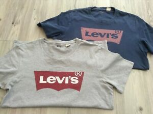 LEVI MENS SMALL   BUNDLE OF LOGO TOPS  SIZE SMALL P/P 20INS