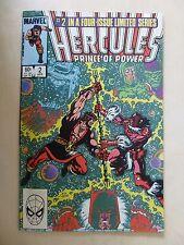 Hercules Prince of Power #2 vol.2 1984 MARVEL Comic Book Vintage 4 issue series