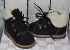 Boots Winterstiefel gefüttert feste sohle schwarz Baby Kleinkind Gr. 21 NEU