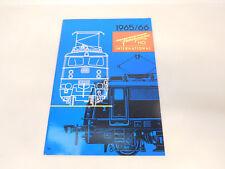 Esf-03276 Fleischmann catalogo 1965/66, con segni di usura