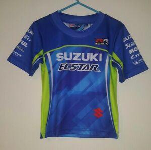 official team suzuki t-shirt age 2-3 racing motorbike