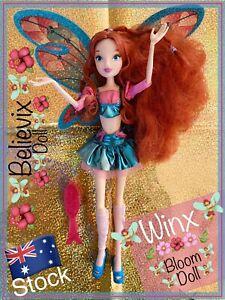 🌺Winx Club 🌺 BLOOM Believix Doll Collectable & RARE- JAKKS Pacific Fairy