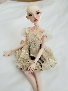 Popovy Sisters Peewit BJD Fashion Doll Recast with Frilly Lace Apron