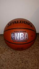 Spalding NBA Indoor/Outdoor 29.5 Composite Leather Basketball Auto ?