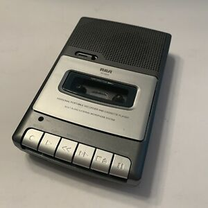 RCA RP3503A Personal Portable Cassette Tape Recorder Player Tested SEE VIDEO