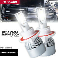 H13 9008 LED Headlight Bulbs For Chevrolet Cruze 2015-2011 & Orlando 2014-2011