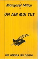 MARGARET MILLAR UN AIR QUI TUE   LE MASQUE 1896